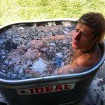 motocross-ice-bath