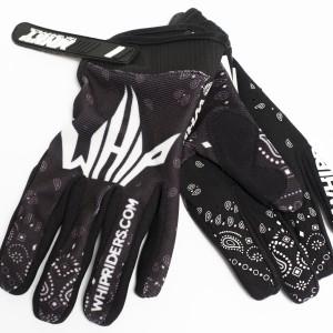 Black/PaisleyGloves