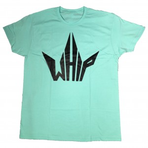 whipriders t-shirt logo mintgreen