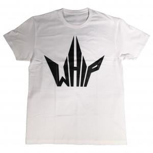 whipriders t-shirt logo white