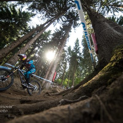 Catching up with Gwin, Hart and Vergier in Val di Sole